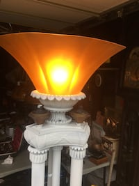 yellow and white table lamp Central Islip, 11722