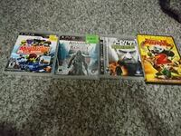three assorted PS3 game cases Calgary, T2A 6J5