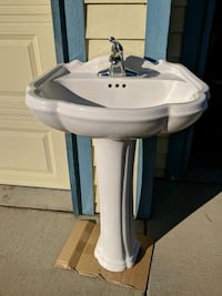 Pedestal sink with faucet Erie, 80516
