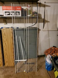 Pair of 6ft Wire Shelves with Hardware