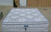 King Serta Eurotop Mattress and Box Spring Used in Great Conditions-FREE DELIVERY! El Paso, 79936