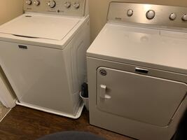 Maytag Washer and Dryer with 5 year warranty