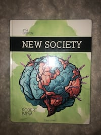 New Society 8th Edition Textbook Toronto, M8V