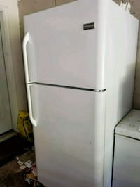 white top-mount refrigerator North Reading, 01864