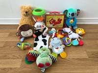 Baby Toy Lot : ALL for 10$ Gatineau, J9A 3T1