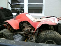 red and black all-terrain vehicle Oakland, 94605