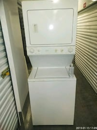 white stackable washer and dryer Washington, 20019