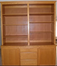 Custom Bookcase/Entertainment Center/China Cabinet-Make Offer Federal Way, 98023
