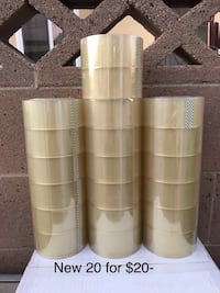 New 20 rolls of packing tape  Santa Ana