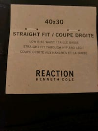 Kenneth Cole Reaction Black Jeans 40x30 & 40×32 NWT Straight Fit. Toronto, M4C 1L4
