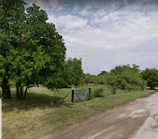 Fenced land in Fortworth