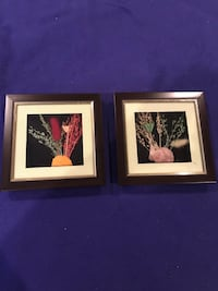 Pair Of Handmade Pictures
