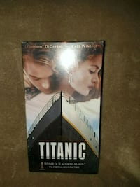 Titanic vhs 2 tape set  Warren