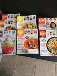 (7) issues of Food Network Magazine like new condition Modesto, 95355