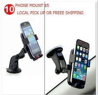 Universal Smartphone Dashboard Suction Cup Mount