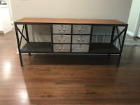 Metal with wood top sideboard/buffet Murray, 84107
