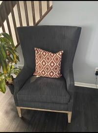 Upholstery accent chair