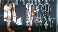 earings are 10 and other are 40 necklace and braclets and earing sets. North Vancouver