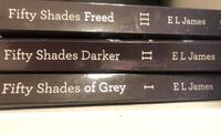 Fifty shades of grey 3 book series  E L James