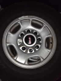 gray 5-spoke car wheel with tire Decatur, 37322