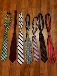 Mens ties lot of 7 Smiths Station, 36877