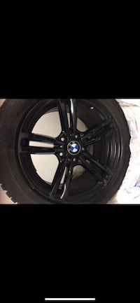 BMW X1 / X3 (225/50 R17) Winter Tires + Black Rims Richmond Hill, L4E 5C5