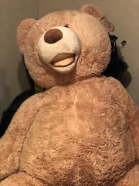 Giant Plush Teddy Bear 53 inches ! 26 mi