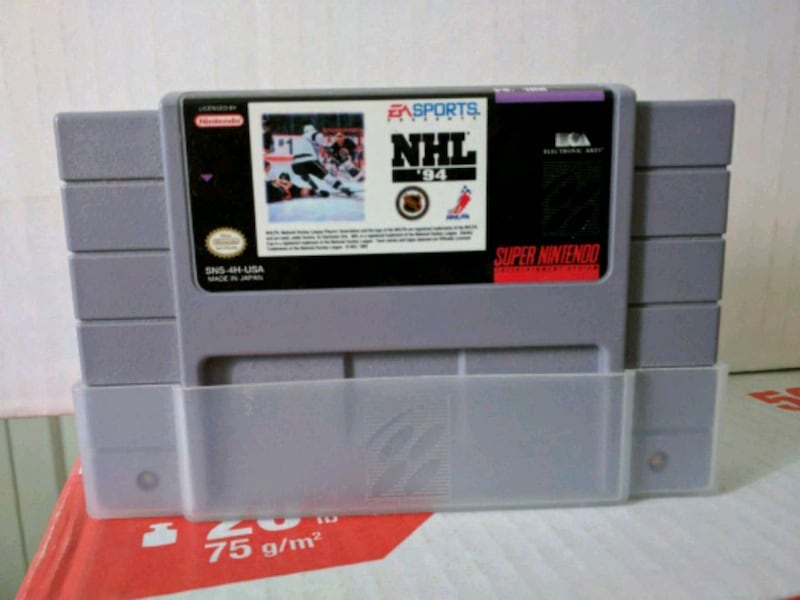 SNES NHL '94 NHL 94. Working. Great condition.. 74ceb467-5985-4c9a-a5f7-96ee343b67d4