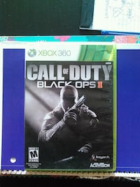 Call of Duty Black Ops 2 Xbox 360 game case Charles Town, 25414