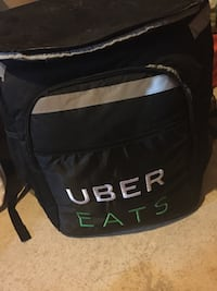 Uber eats bag in good condition. Barrie, L4M 7J9