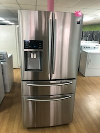 Stainless Steel Samsung Double French Door Refrigerator  47 km