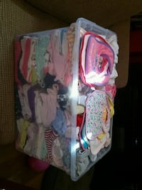 Girl clothes 0-9 months