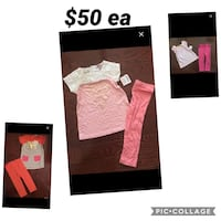 Juicy couture girls outfits sz 2/3 nwt retail $125/ outfit only $50ea Toronto, M9P 1P7