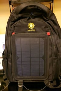 Updated!! Solar Go Pack Backpack with solar panel