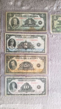 Wanted 1935&1937 Banknotes  Victoria, V9C 3Z3