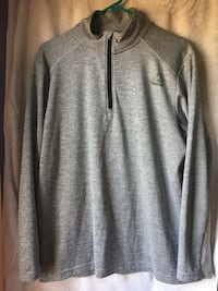 Gray zip-up hoodie Plymouth, 02360