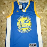 Adidas Golden State Warriors Kevin Durant Jersey