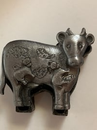 Pewter cow box and jewelry Great Falls, 59405