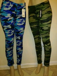 black, green, and brown camouflage pants 55 km