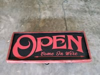 Open Sign Boiling Springs, 29316