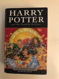 Harry Potter and the Deathly Hallows by J.K Rowling  Falls Church, 22043