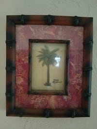 Wall Framed pictures,2-each,Palm trees