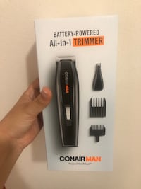 Conair battery powered trimmer