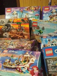 Various Lego Sets all Brand New. 3120 km