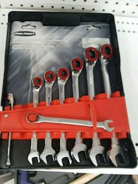 PRO Point magnetic ratcheting wrench set Oshawa, L1G 4W6