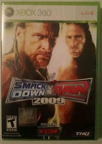 New Xbox 360 Smackdown vs Raw 2009 Video Game  Troy, 12180