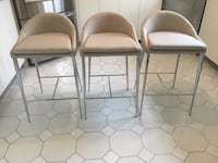 3 brand new stools from structube  Longueuil, J4J 2T8