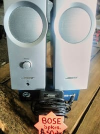 AWESOME CONDITION! BOSE COMPANION SPEAKERS.. THESE