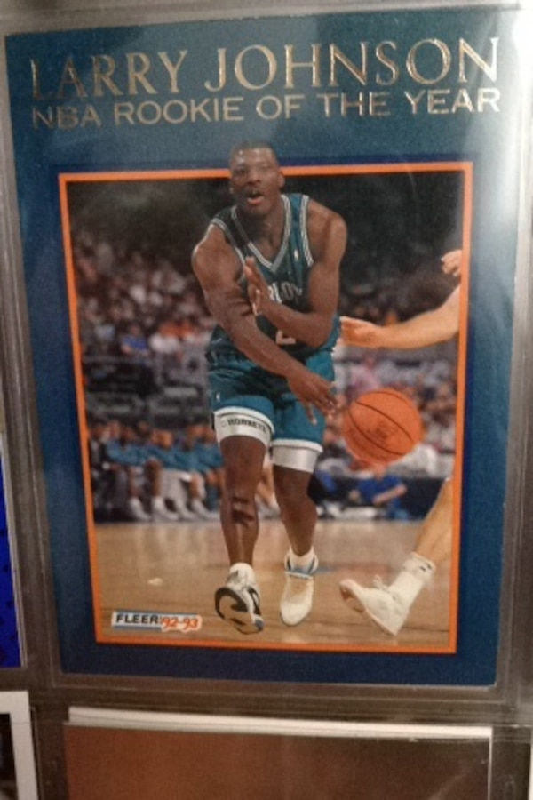 Used Larry Johnson Collection Card For Sale In Los Angeles