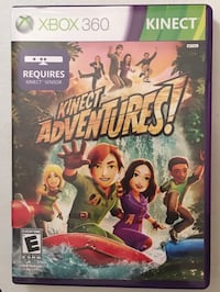 Xbox 360 Kinect Adventures game brand new